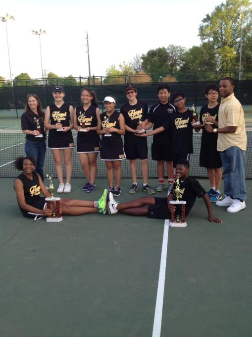 FMMS City Tennis Champions