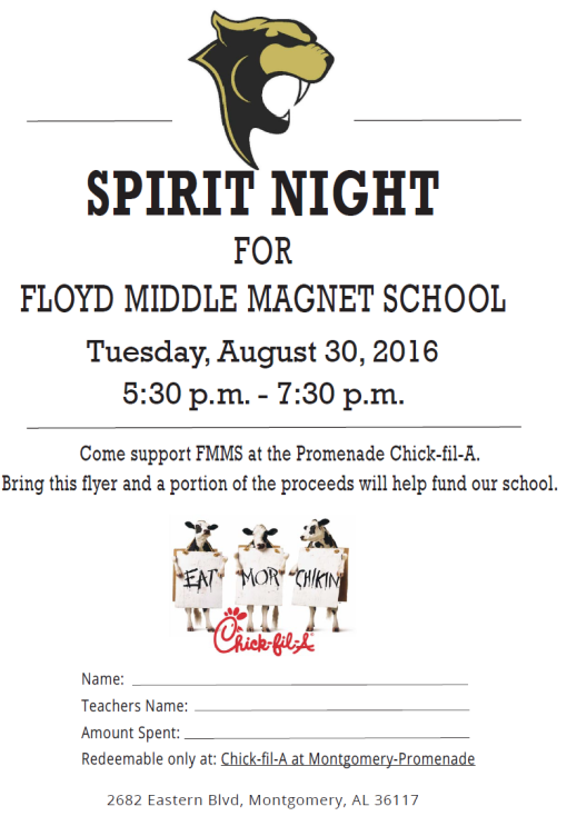 Spirit Night 2016-08