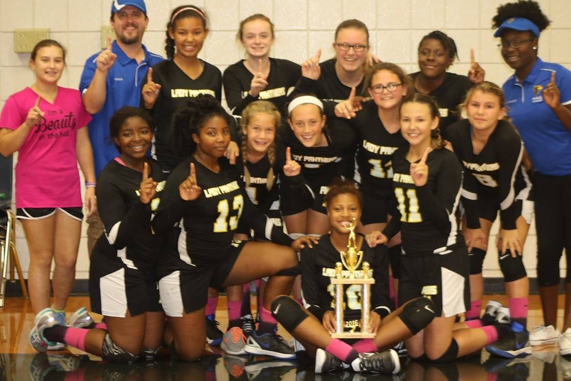 FMMS Volleyball City Champions – Go Panthers!